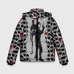 Куртка зимняя для мальчика Jyn and K-2S0 цвета 3D-черный — фото 1