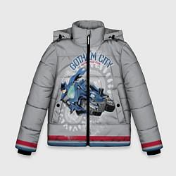Куртка зимняя для мальчика Gotham City Motorcycle Club цвета 3D-черный — фото 1
