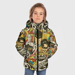 Куртка зимняя для мальчика DC Comics цвета 3D-черный — фото 2