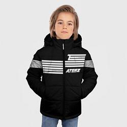 Куртка зимняя для мальчика Ateez цвета 3D-черный — фото 2