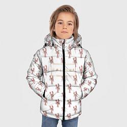 Куртка зимняя для мальчика Lobster цвета 3D-черный — фото 2