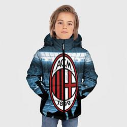 Куртка зимняя для мальчика Milan цвета 3D-черный — фото 2