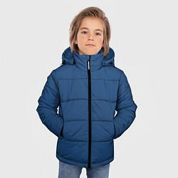 Куртка зимняя для мальчика 19-4052 Classic Blue цвета 3D-черный — фото 2