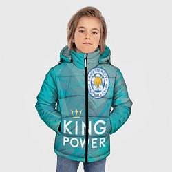 Куртка зимняя для мальчика Лестер Сити цвета 3D-черный — фото 2