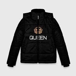 Куртка зимняя для мальчика Королева цвета 3D-черный — фото 1