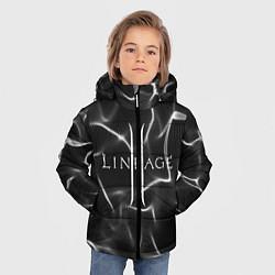 Детская зимняя куртка для мальчика с принтом LINEAGE 2, цвет: 3D-черный, артикул: 10202647106063 — фото 2