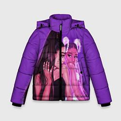 Куртка зимняя для мальчика Ariana Grande Ариана Гранде цвета 3D-черный — фото 1