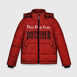 Куртка зимняя для мальчика Three days grace Outsider цвета 3D-черный — фото 1