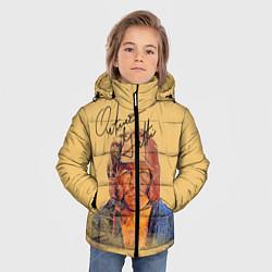 Куртка зимняя для мальчика Arturo Gatti цвета 3D-черный — фото 2