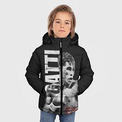 Куртка зимняя для мальчика Gatti цвета 3D-черный — фото 2