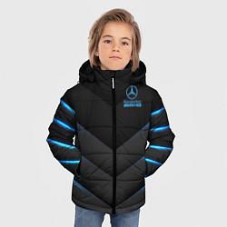 Куртка зимняя для мальчика Mercedes-AMG цвета 3D-черный — фото 2