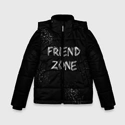 Куртка зимняя для мальчика FRIEND ZONE цвета 3D-черный — фото 1