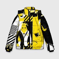 Зимняя куртка для мальчика Agent Peely Агент Пили