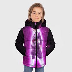 Куртка зимняя для мальчика Супер Сайян Super Saiyan цвета 3D-черный — фото 2