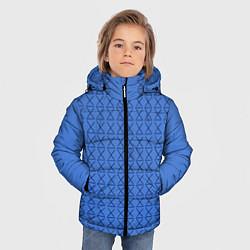 Куртка зимняя для мальчика Конь БоДжек Свитер цвета 3D-черный — фото 2
