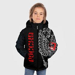 Куртка зимняя для мальчика Россия цвета 3D-черный — фото 2