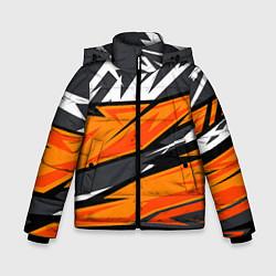 Куртка зимняя для мальчика Bona Fide Одежда для фитнеса цвета 3D-черный — фото 1