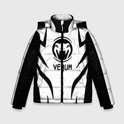 Куртка зимняя для мальчика Venum спина цвета 3D-черный — фото 1