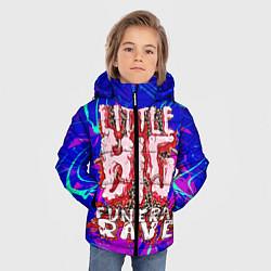 Куртка зимняя для мальчика Little Big: Rave цвета 3D-черный — фото 2