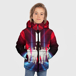 Куртка зимняя для мальчика BTS цвета 3D-черный — фото 2