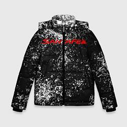 Куртка зимняя для мальчика HYUNDAI SANTA FE цвета 3D-черный — фото 1