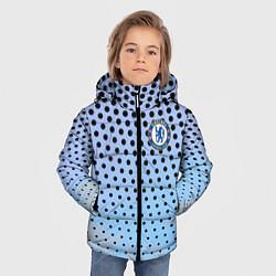 Куртка зимняя для мальчика Челси цвета 3D-черный — фото 2