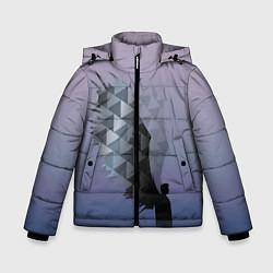 Куртка зимняя для мальчика Castiel цвета 3D-черный — фото 1