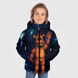 Куртка зимняя для мальчика Five Nights At Freddys цвета 3D-черный — фото 2