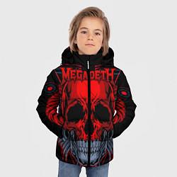Куртка зимняя для мальчика Megadeth цвета 3D-черный — фото 2