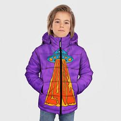 Куртка зимняя для мальчика Vibes of Love цвета 3D-черный — фото 2