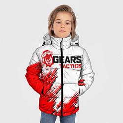 Куртка зимняя для мальчика GEARS TACTICS цвета 3D-черный — фото 2