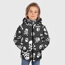 Куртка зимняя для мальчика Scorpions цвета 3D-черный — фото 2