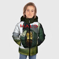 Куртка зимняя для мальчика Halo Z цвета 3D-черный — фото 2