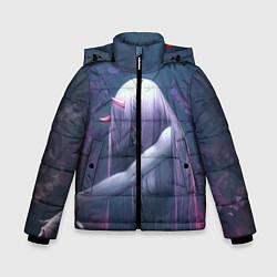 Куртка зимняя для мальчика DARLING IN THE FRANXX цвета 3D-черный — фото 1