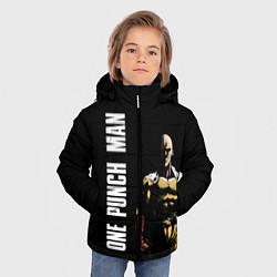 Куртка зимняя для мальчика One Punch Man цвета 3D-черный — фото 2