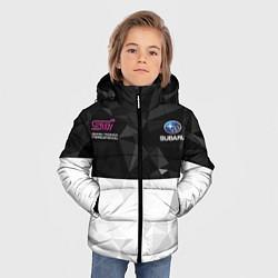 Куртка зимняя для мальчика SUBARU WRX STI спина Z цвета 3D-черный — фото 2