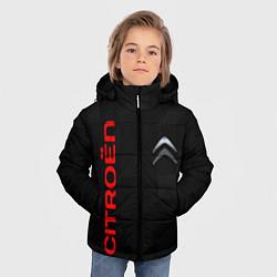Куртка зимняя для мальчика CITROEN цвета 3D-черный — фото 2