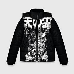 Куртка зимняя для мальчика Devil цвета 3D-черный — фото 1