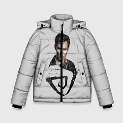Куртка зимняя для мальчика Настоящий детектив цвета 3D-черный — фото 1