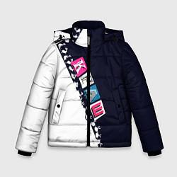 Куртка зимняя для мальчика Краш цвета 3D-черный — фото 1