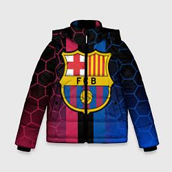 Куртка зимняя для мальчика BARSELONA цвета 3D-черный — фото 1