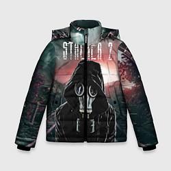 Куртка зимняя для мальчика Stalker 2 Зона цвета 3D-черный — фото 1