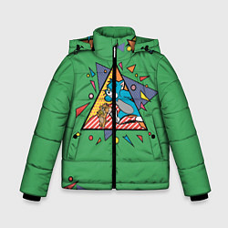 Куртка зимняя для мальчика Bright цвета 3D-черный — фото 1