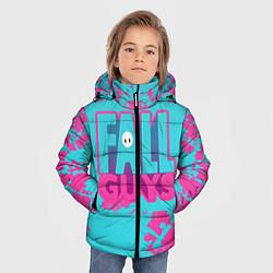 Куртка зимняя для мальчика Fall Guys: Ultimate Knockout цвета 3D-черный — фото 2