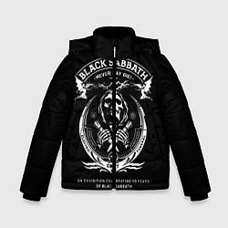 Куртка зимняя для мальчика The End World Tour цвета 3D-черный — фото 1