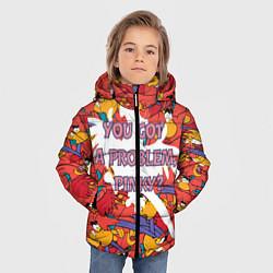 Куртка зимняя для мальчика ЯГО цвета 3D-черный — фото 2