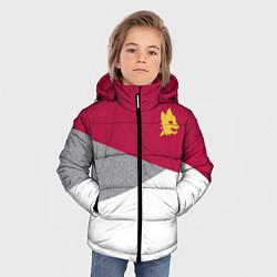 Куртка зимняя для мальчика AS Roma Red Design 2122 цвета 3D-черный — фото 2