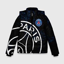Куртка зимняя для мальчика ПСЖ цвета 3D-черный — фото 1