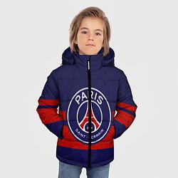 Куртка зимняя для мальчика PSG цвета 3D-черный — фото 2