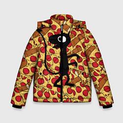 Куртка зимняя для мальчика ЛЮЦИ цвета 3D-черный — фото 1
